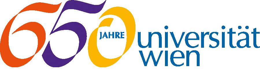 650 Jahre – Geschichte der Universität Wien Logo